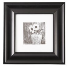 black matted gallery frame by studio dcor